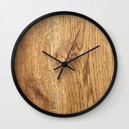 Wood Wood Wall Clock