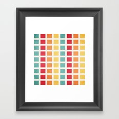 Be There Or Be... Framed Art Print