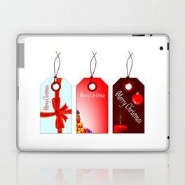 Christmas Tag Set Laptop & iPad Skin