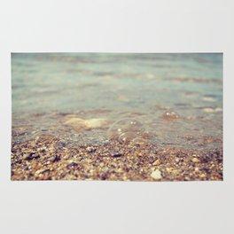 Bubbles on the Beach Rug