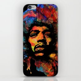 Hendrix - Vibrations Lines iPhone Skin