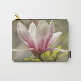 Blooming pink magnolia Carry-All Pouch