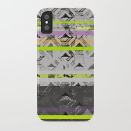 Tri Lands iPhone Case
