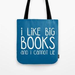 I Like Big Books Funny Quote Tote Bag