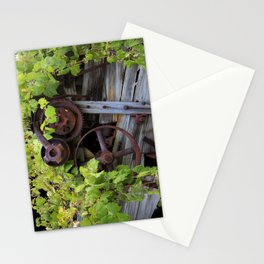 Overgrown Machinery Stationery Cards
