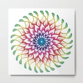 Mandala doodle0002.2 Metal Print