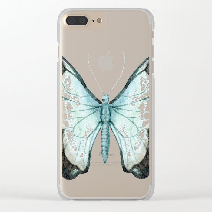 Butterfly 11 Clear iPhone Case