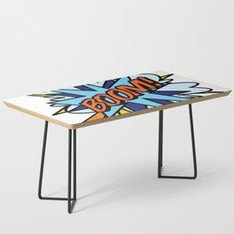 Comic Book Pop Art BOOM Coffee Table
