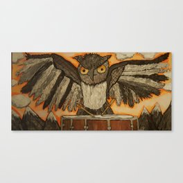 Owl Jackson Jr Canvas Print