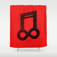 Music Forever Shower Curtain