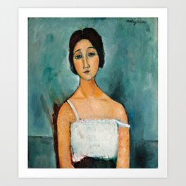 "Amedeo Modigliani ""Christina"" Art Print"