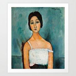 "Amedeo Modigliani ""Christina"" Art Print"