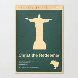 Christ the Redeemer, Brazil Canvas Print