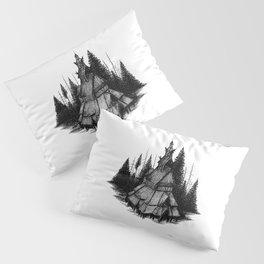 Fantoft Stave Church Pillow Sham