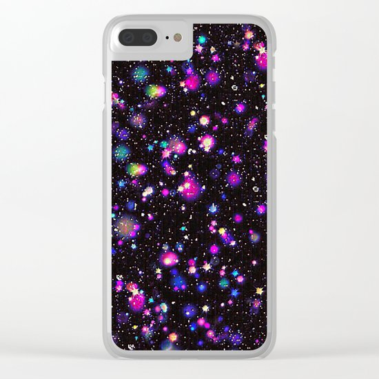 Lovely-15 Clear iPhone Case