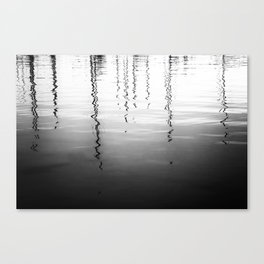 Ripples And Reflections 4 Canvas Print