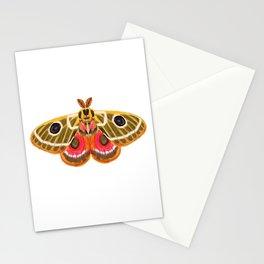 Moth Study No. 15 - moth art, moth sticker Stationery Cards
