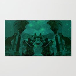Fight Among the Gods Canvas Print