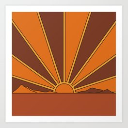 Sun Dreamer Art Print