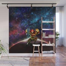 Metroid Samus Returns Wall Mural