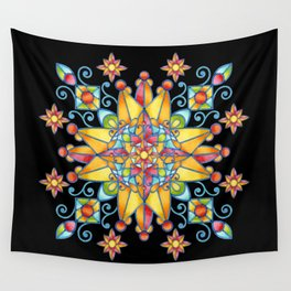 Alhambra Stained Glass Wall Tapestry