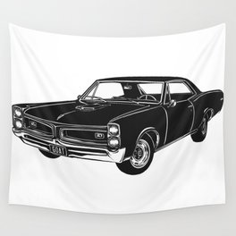 GTO Muscle Car Wall Tapestry