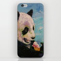 ice cream iPhone & iPod Skins featuring Ice Cream by Michael Creese