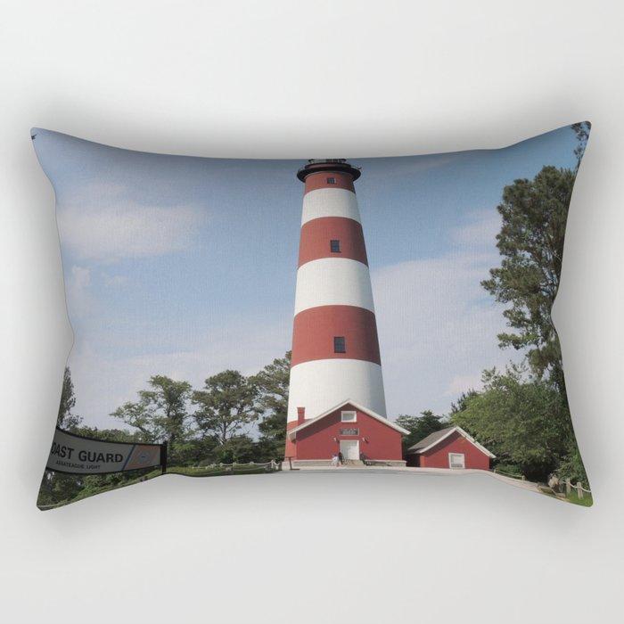 Chincoteague Lighthouse Rectangular Pillow