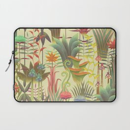 Bioluminescent Jungle, day version Laptop Sleeve