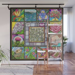 My Patchwork Friendship Squares Wall Mural