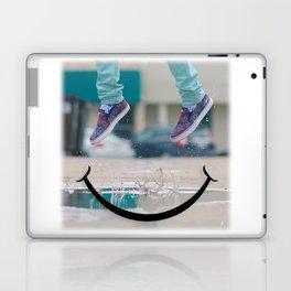 Smiley Face Puddle Laptop & iPad Skin