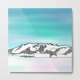 Vinson Massif Antarctica Metal Print