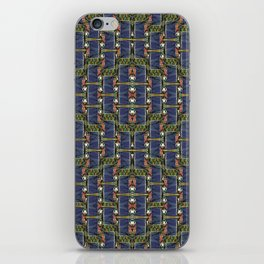Cool Woven Blue iPhone Skin
