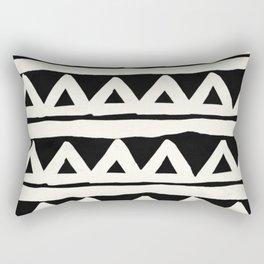 Tribal Chevron Stripes Rectangular Pillow