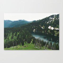 SIAMESE LAKES MONTANA Canvas Print