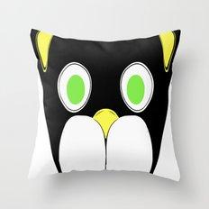 Cat Head Throw Pillow