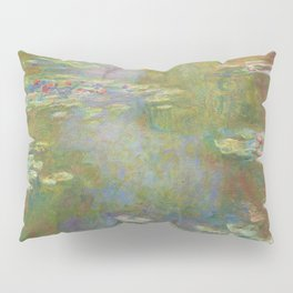 Water Lily Pond Pillow Sham