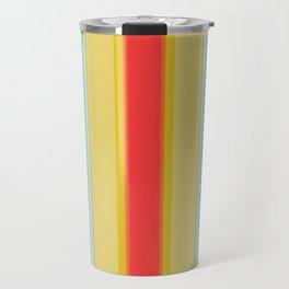 sandcastle deckchair stripe Travel Mug