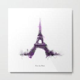 Vive la Paris Metal Print