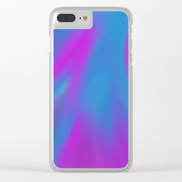 Textured Glass Clear iPhone Case