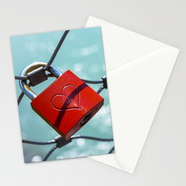 Salzburg Love Lock Stationery Cards