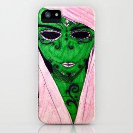Pink Sugar Skull iPhone Case