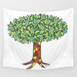 Fruit Tree Wall Tapestry