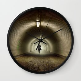 Endless Tunnel Wall Clock