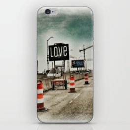 Road Construction Love  iPhone Skin