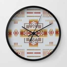 American Native Pattern No. 164 Wall Clock