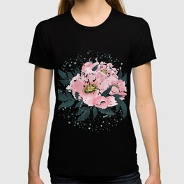 Bloom of Happiness - Pink Peonies T-shirt