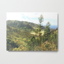 Makua Valley View Metal Print
