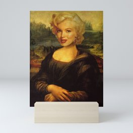 Mona Lisa & Marylin Mini Art Print