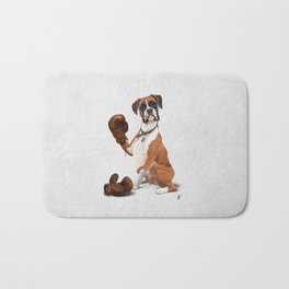 The Boxer (Wordless) Bath Mat